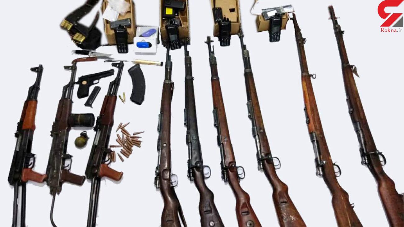 کشف 2 قبضه سلاح جنگی و شکاری غیر مجاز در تهران
