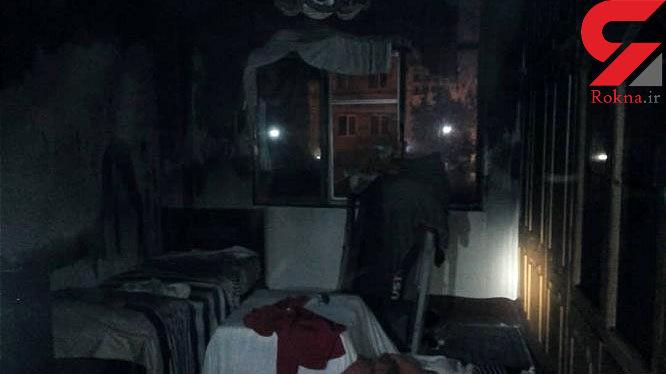 کرسی برقی آتش بپا کرد + عکس