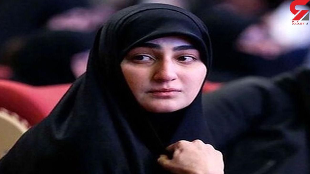 واکنش عجیب فرزند شهید سلیمانی به ادعاهای ظریف + عکس