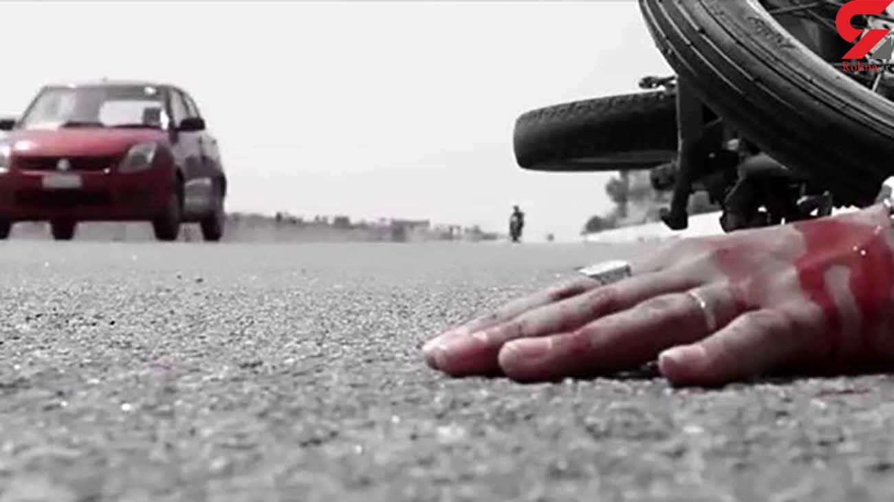 2 کشته در تصادف رانندگی /تهران