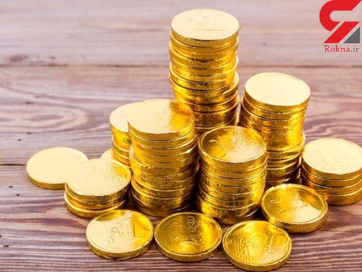 سقوط قیمت سکه به مرز 3 میلیون و 400 هزار تومان
