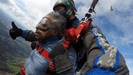US woman goes skydiving for the first time at 102