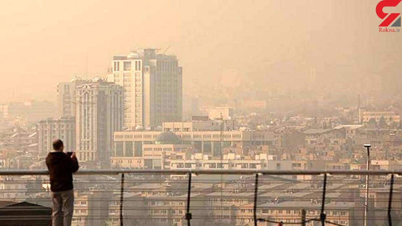 هوای ۴ شهر ایران ناسالم است