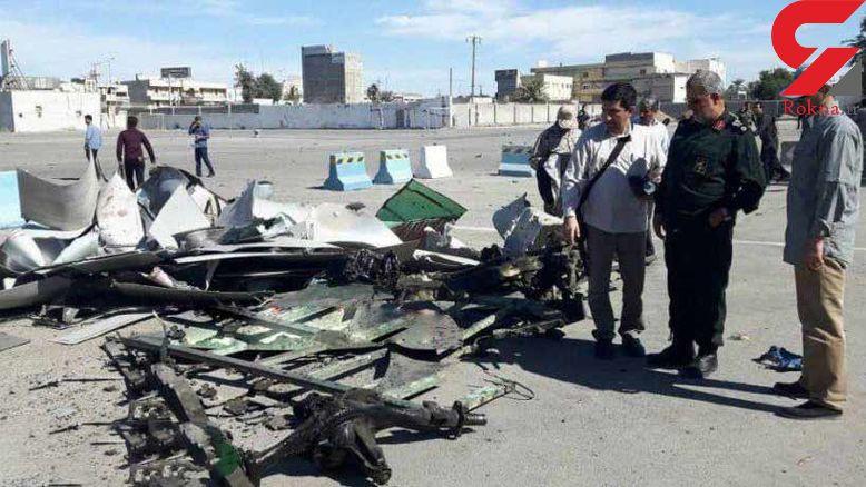 اولین عکس از خودروی منفجر شده عامل تروریستی چابهار + جزئیات