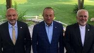 تاکید وزرای خارجه ایران، افغانستان و ترکیه بر مشارکت در صلح افغانستان