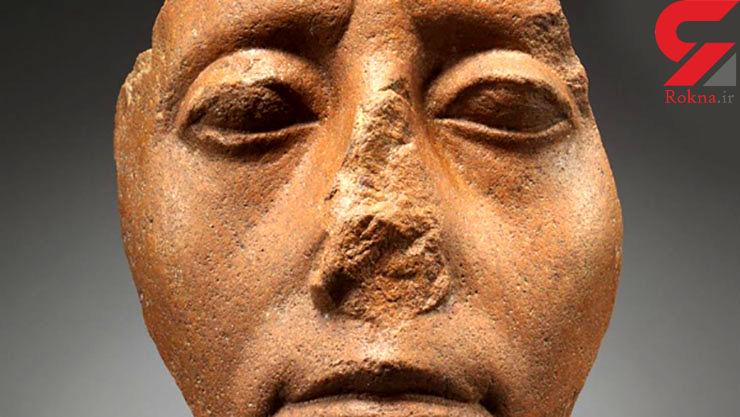 راز مجسمههای بینی شکسته مصری فاش شد! + عکس