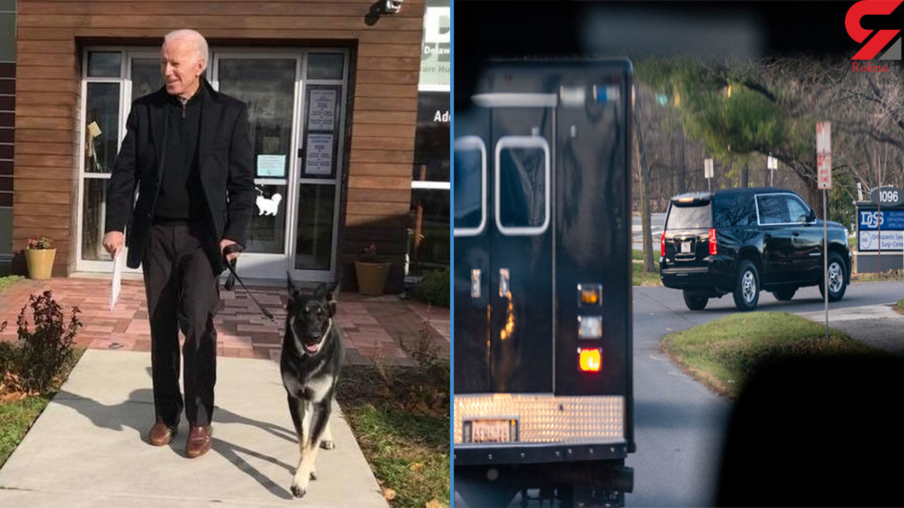 Joe Biden fractured foot while playing with his dog, doctor says