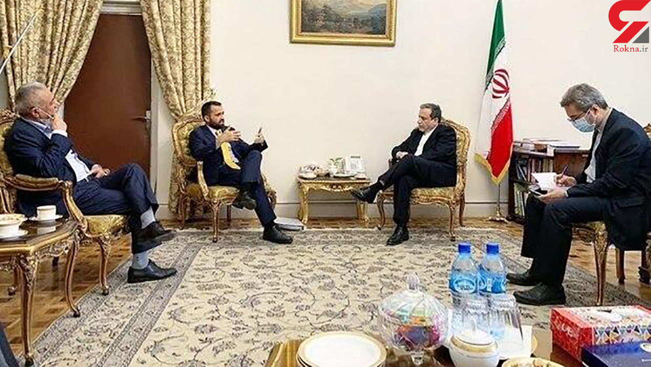 دیدار معاون وزارت خارجه افغانستان با عراقچی