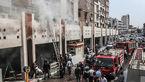 آتشسوزی در ساختمان شهرداری منطقه 4 اهواز