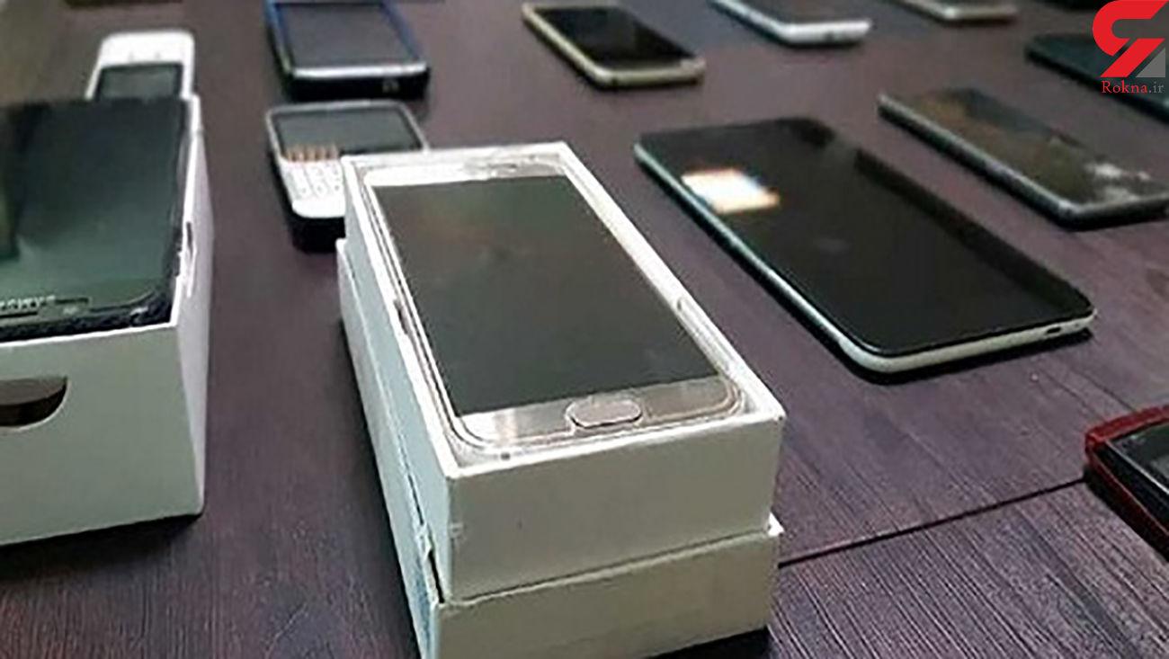 کشف گوشی های تلفن همراه سرقتی در یاسوج