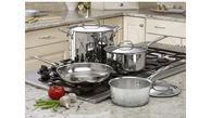 چرا استفاده از قابلمه های استیل در پخت غذا بیشتر توصیه می شود؟