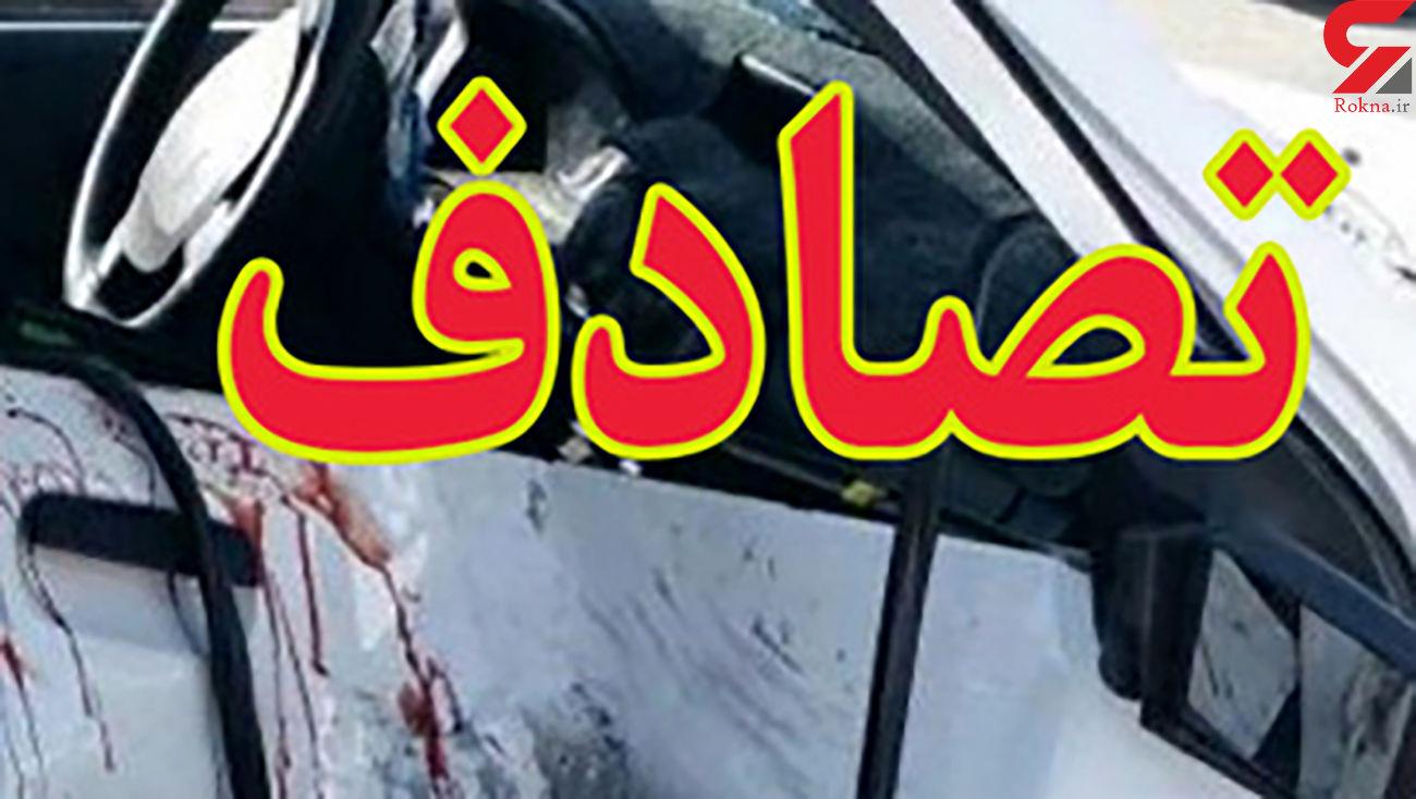 مرگ ناگوار کودک 4 ساله یزدی در تصادف با پراید
