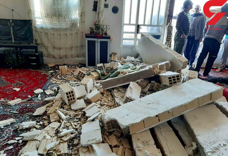 3 مصدوم حاصل انفجار خانه ای در خرم آباد + عکس