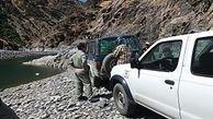 دستگیری 6 صیاد متخلف در سردشت آنها قاتل ماهی های رودخانه ای بودند