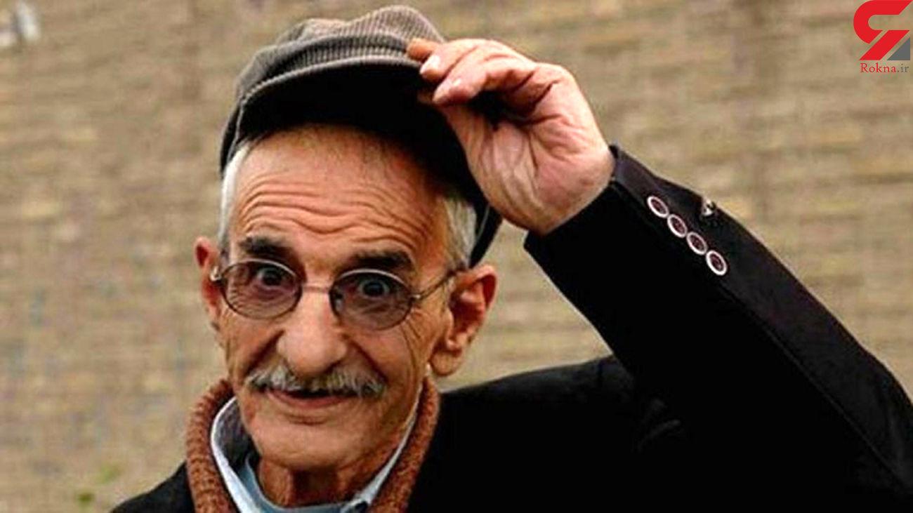 سکانسی از بازی زنده یاد احمد پورمخبر در کنار سیروس گرجستانی
