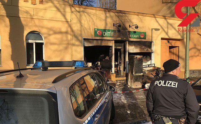 حمله به چند مسجد در آلمان +عکس