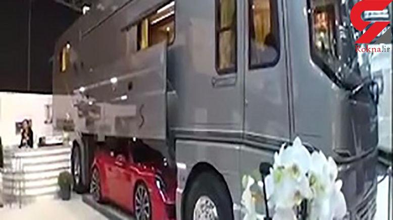 عجیب ترین و لاکچریترین کامیون جهان را ببینید+ فیلم و عکس
