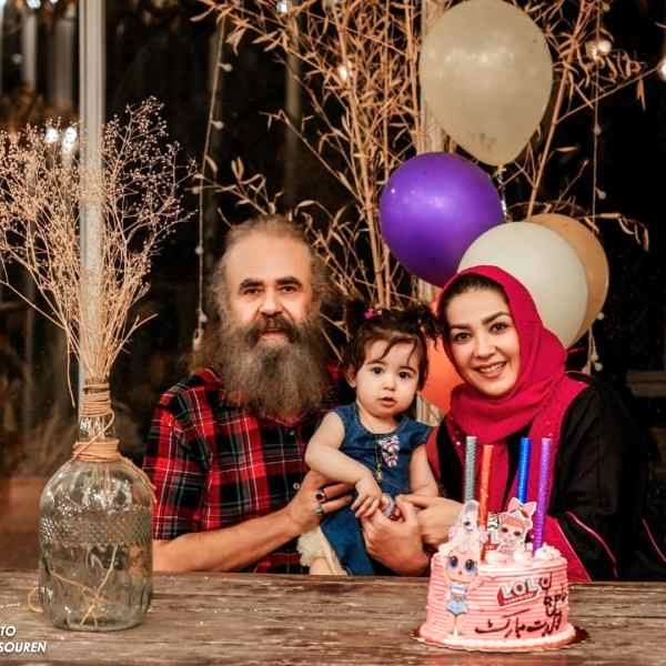 اختلاف سنی 28 ساله بازیگر زن تلویزیون با همسرش + عکس ها
