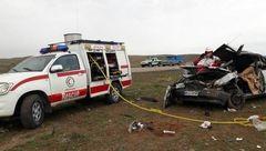 تصادف زنجیره ای در نیشابور 20 قربانی برجای گذاشت+ عکس هولناک