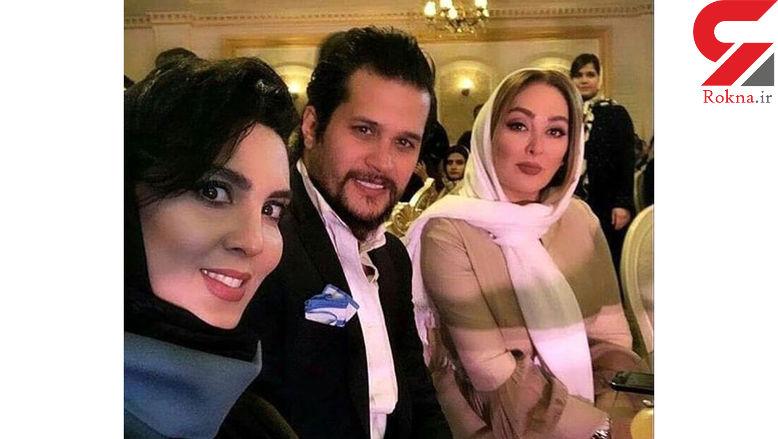 سیاوش خیرابی و 2 خانم بازیگر در یک مهمانی + عکس