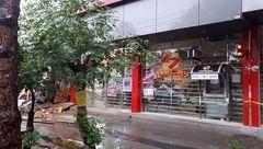 حادثه عجیب بانک انصار در قم !+ تصاویر
