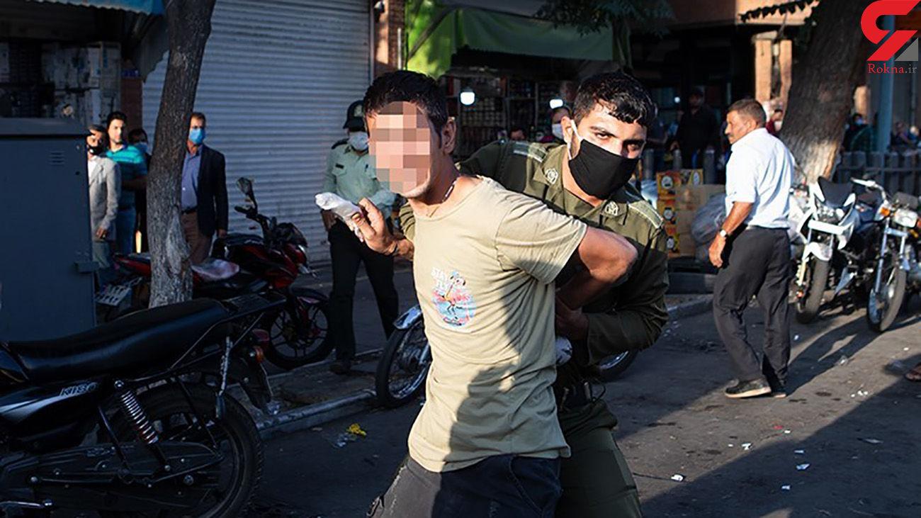 فیلم لحظه به لحظه حمله به دخمه دزدان در مولوی تهران + جزییات