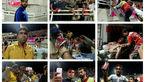 عکس درگیری شدید در سکو بازی استقلال خوزستان و پرسپولیس + تصاویر