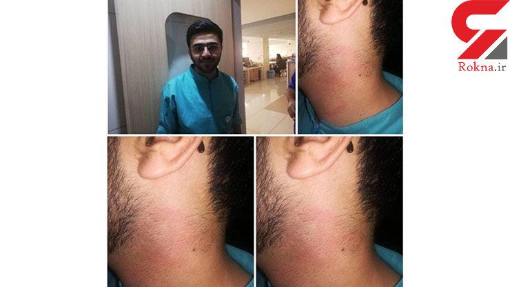 جزییات دقیق کتک خوردن پرستار شیرازی از آقای دکتر / خانم پرستار کم مانده بود بچه داخل شکمش را بیندازد! + عکس ها