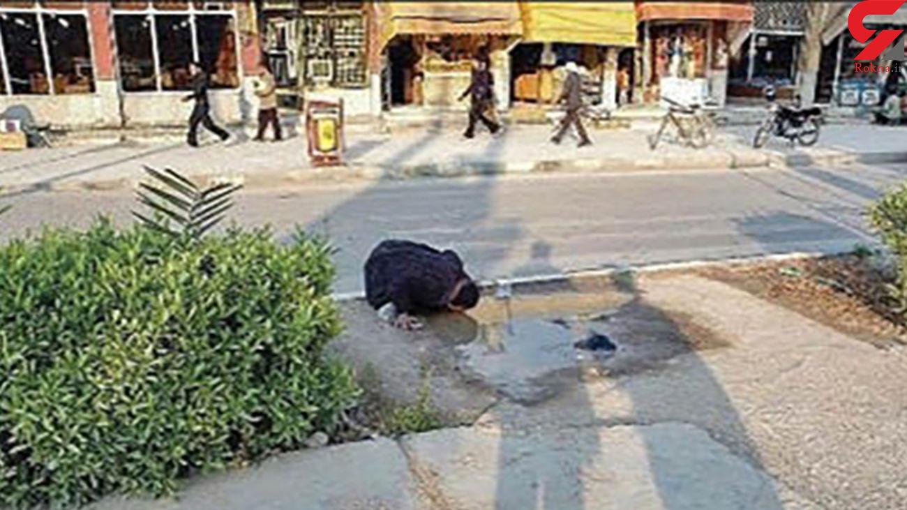 پشت پرده عکس زن تشنه خوزستانی + عکس