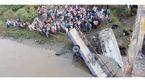 راننده اتوبوس، زائران  را به قربانگاه برد+عکس