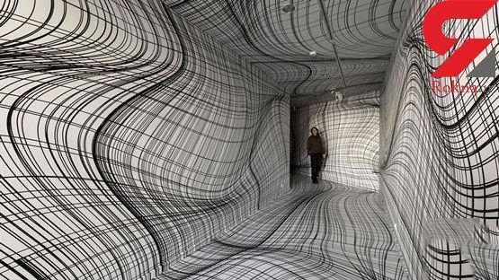 طراحی فضا با توهمات دیداری سرگیجهآور +تصاویر دیدنی