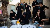 خدمت رسانی به زائران اربعین در خانه یک زن عراقی + عکس