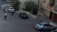 تیراندازی در کوی رضوی اراک / ضارب یک پلیس را با قمه مجروح کرد + عکس