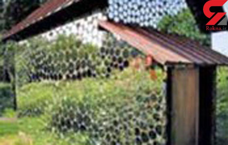 خانه ای از جنس آیینه + عکس