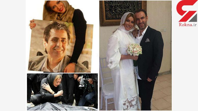 ازدواج فریبا نادری بازیگر سریال ستایش پس از 8 سال تنهایی+عکس