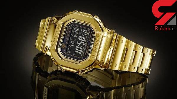 گرانترین ساعت کاسیو جی شاک رونمایی شد! + عکس