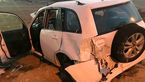 مصدومیت 8 نفر براثر سانحه رانندگی در سهند