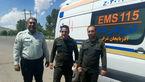 فداکاری 2 سرباز پلیس برای نجات دختر جوان در سد هریس + عکس 2 سرباز