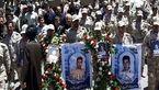 پیکر 2 شهید مرزبانی در سردشت تشییع شد