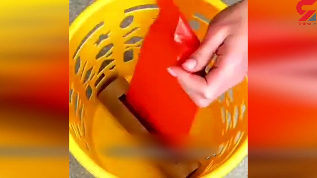 استفاده متفاوت از کیسه های زباله + فیلم