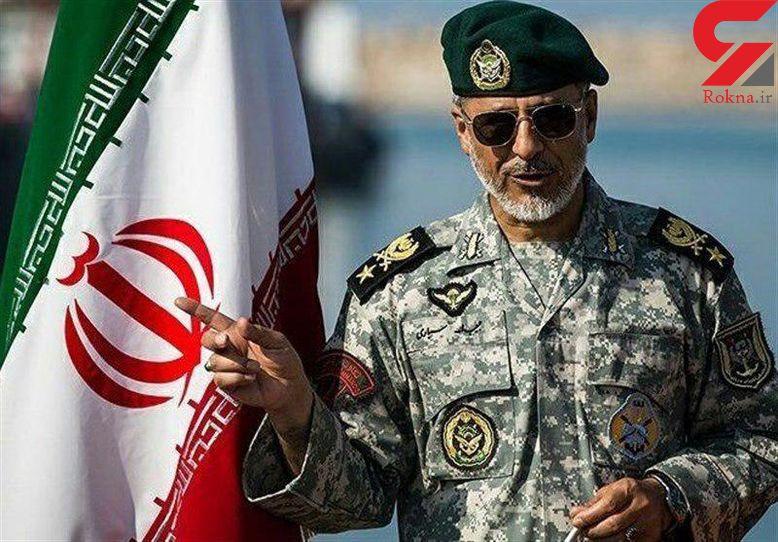 امیر دریادار سیاری : تمام تلاش خود را برای تامین امنیت مرزها به کار خواهیم گرفت