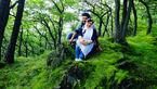 عاشقانه های مادرانه فلور نظری برای پسرش در جنگل های آلمان +عکس