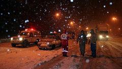 ۱۳ استان درگیر برف و کولاک/ امدادرسانی به ۱۵۰۰ مسافر در راه مانده