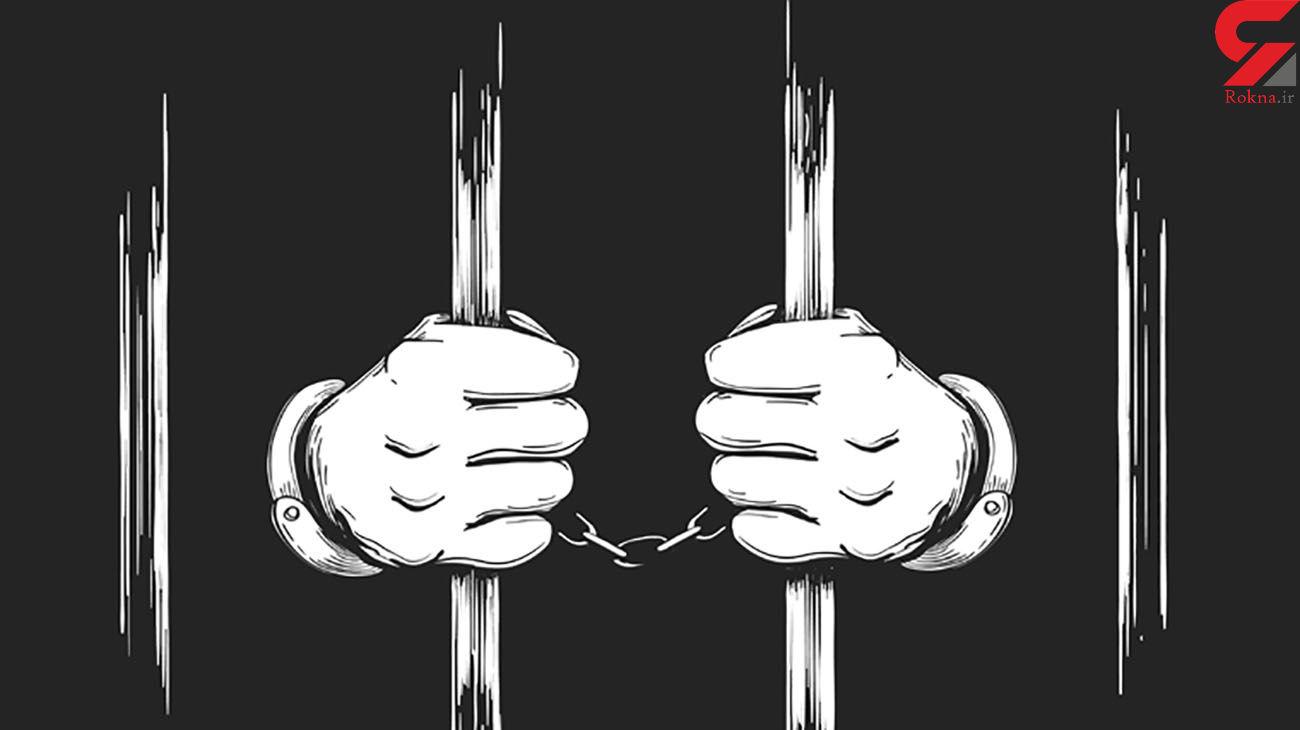 اقدام عجیب مجرم برای فرار از دست ماموران پلیس + عکس
