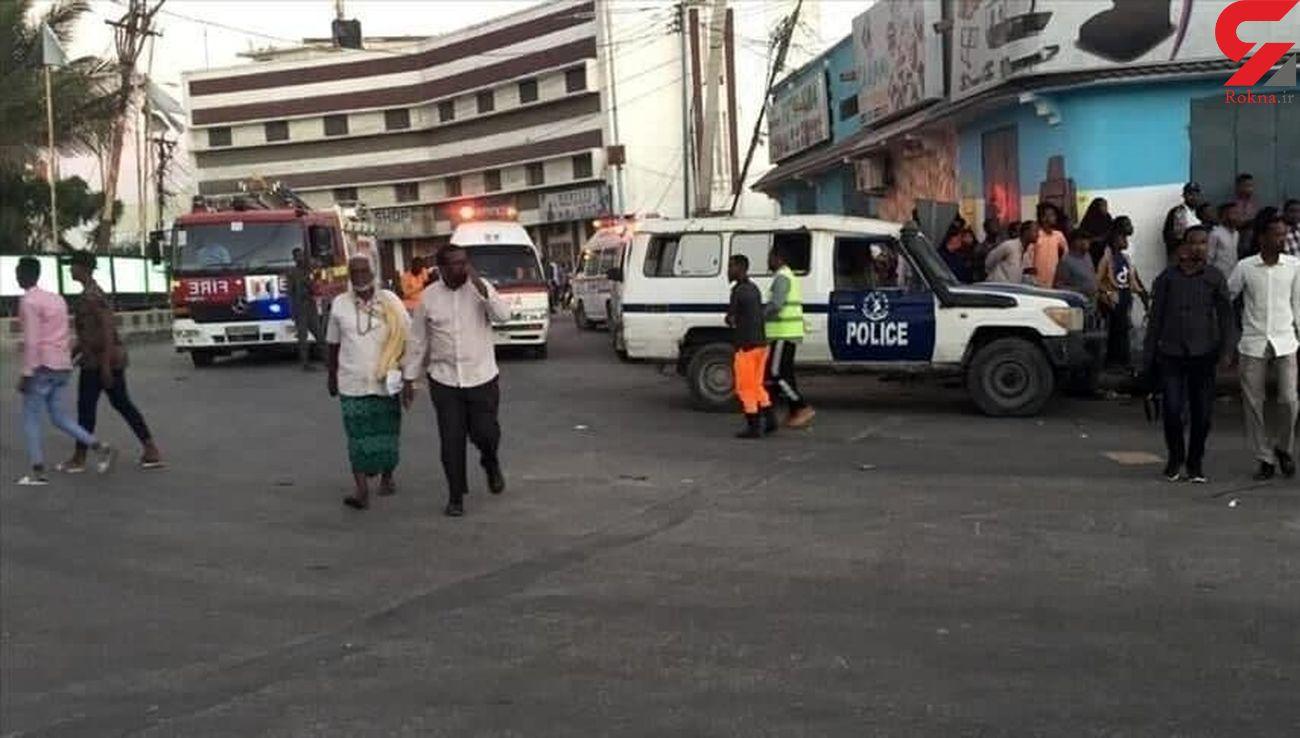 انفجار خودروی بمبگذاریشده در نزدیکی کاخ ریاستجمهوری سومالی