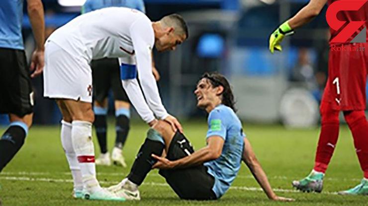 تزریق خون گوساله  به فوتبالیست سرشناس برای بهبود مصدومیت + تصویر