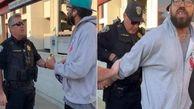 دستگیری یک مرد توسط پلیس آمریکا به خاطر غذا خوردن در ایستگاه قطار