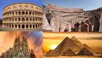 سازه های شگفت انگیزی که ماندگار در تاریخ شدند +تصاویر