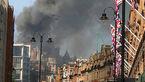 آتش سوزی گسترده در هتل اورینتال لندن