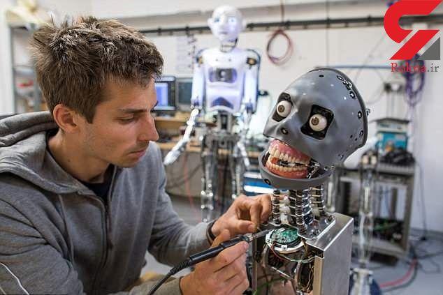 ساخت رباتی انسان نما با الگو از یک فرد واقعی